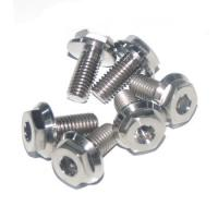 Wholesale CNC Milling Titanium Bolts , Exhaust Manifold Bolts With Polishing Surface from china suppliers