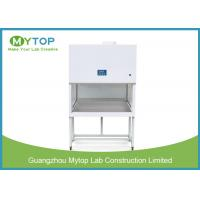 China 5 Feet Vertical Clean Room Lab Equipment / Sterile Laminar Flow Fume Hood for sale