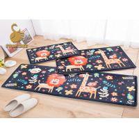 Wholesale Washable Non-slip Animal Bath Mat , Non-woven Polyester Floor Mats from china suppliers
