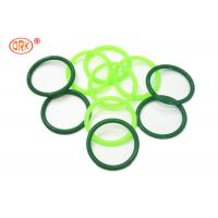 China AS568 Standard Silicone O Rings Clear And Green FDA Grade / Silicon Rubber Rings on sale