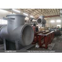 Buy cheap T type rough ss water strainer filter/pipeline water filter from wholesalers