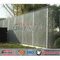 galvanized steel grating fence