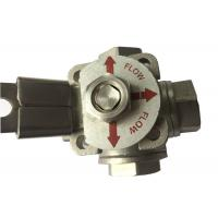 "Wholesale CF8M  Stainless Steel 3 way ball valve ""T"" type and ""L"" Type Flow Control from china suppliers"
