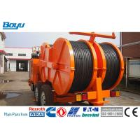 Quality 1x160 KN Hydraulic Cable Tensioner Four Bundle Conductor TY1x160 Cummis Engine for sale