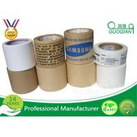 Wholesale Industrial Reinforced Fiber Gummd Kraft Paper Tape With Logo Printed 2 Inch x 60 Yards from china suppliers