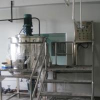 Wholesale 5000L Shampoo Making Machine, Shower Cream Blending Tanks, Cosmetic Mixer from china suppliers