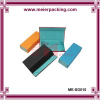 Quality Art paper blue cardboard paper box, sunglass packing box ME-SG010 for sale