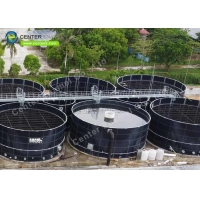 Wholesale Glass Fused to Steel Effluent Treatment Tanks for Various Industrial Wastewater Treatment Projects from china suppliers