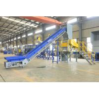 High Speed Plastic Washing Recycling Machine For PP PE Film 100 KW for sale