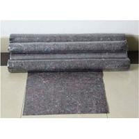 Quality Customized 30% Cotton 70% Syhthetic Non Woven Felt As Heat Resistant Floor Felt for sale