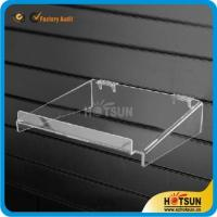 Wholesale clear acrylic sliding shoe racks hanging shoe rack acrylic wall mounted storage rack plexiglass shoe store shelf from china suppliers