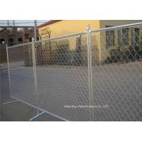 Wholesale Outdoor Temporary Construction Fence Chain Link Fencing For Construction Protection from china suppliers