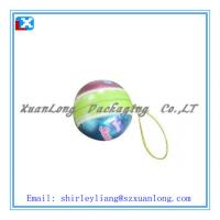 Wholesale Christmas gift ball shape tin box from china suppliers