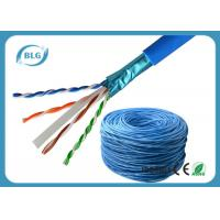 Wholesale Communication Cat6 Lan Cable Network Wire Shielded Solid Bare Copper For Computer from china suppliers