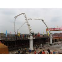 Quality 7m Stationary Height Hydraulic Stationary Placing Boom HG24 Electrical Integration Control for sale