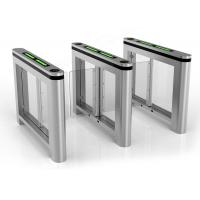 Wholesale Single Pole Automatic Systems Turnstiles Bi Directional Swing Barrier Gate from china suppliers