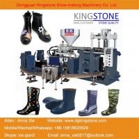 Buy cheap Kingstone Shoe Machinery Rotary 1/2/3 Colors Gumboots Making Machine from wholesalers