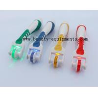 Wholesale 540 Needles Derma Rolling System Micro Needle Roller With Blue / Red / Yellow / Green LED Light from china suppliers