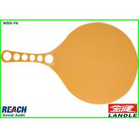 China Custom Size PP Plastic Beach Ball Racket For Child , 4 CMYK Full Printing on sale