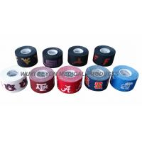 Quality Sport Tape for Soccer 100% Cotton Adhesive trapping,Unique Logo Printed Rich Ink for sale