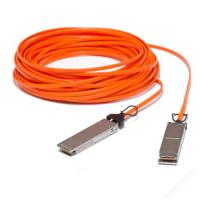 Wholesale 40GBase AOC QSFP+ direct-attach Active Optical Cable, 100-meter from china suppliers