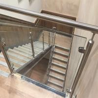 Wholesale Price Of Modern Stair Stainless Steel Balcony Glass Terrace Railing Design Manufacturer from china suppliers