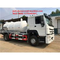Wholesale 4X2 10cbm Sewage Suction Truck Tank Volume 10m3 / 10000L 160hp Euro 2 Standard from china suppliers