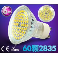 Wholesale led spot light GU10 AC85-265V E27 bulb 60pcs SMD2835 high brightness new down indoor lamp from china suppliers