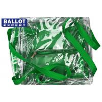 Wholesale Environment Friendly Clear Sealed PVC Bag Collapsible Ballot Box With Zipper from china suppliers