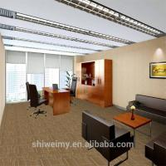China Stock Wholesale 50*50cm modular grid pattern carpet tile for sale