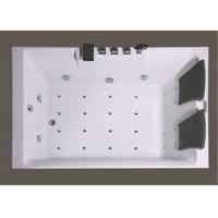 Wholesale Square Freestanding Whirlpool Bathtubs , Whirlpool Jet Tubs For Small Bathrooms from china suppliers