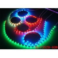 High Lumen IP44 Flexible Outdoor Led Strip Lights RGB with 3m Self Adhesive Tape for sale