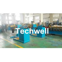 Wholesale Rotary Double Head Mandrel Manual Uncoiler / Decoiler With Weight Capacity Of 3 / 5 Ton from china suppliers