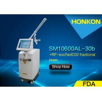 Quality Portable 30W CO2 Fractional Laser Stretch Mark Removal Large Pores Treatment for sale