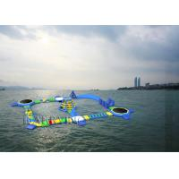 Wholesale Commercial Floating Toys Inflatable Water Park , Giant Beach Waterpark For Adult from china suppliers