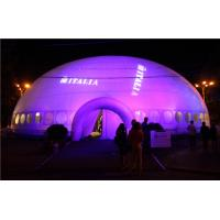 Quality Giant Lighting Inflatable Tent , Inflatable Dome Tent Price for sale