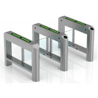 Buy cheap High Security Supermarket Swing Gate Card Reading Smart Turnstile from wholesalers