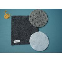 Quality Eco Non Woven Needle Punched Felt Polyester Fabric Rolls With Pvc Dots for sale