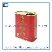 Wholesale olive oil tin can 500ml from china suppliers