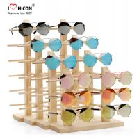 Wholesale Amazing Clients Wooden Sunglasses Display Stand Counter Top Advertising Equipment from china suppliers