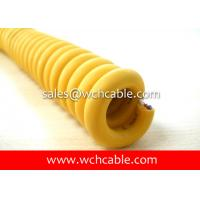 Wholesale Abrasion Resistant Elastomer Jacketed Retractable Spiral Cable UL20057, UL20327, UL20618 from china suppliers