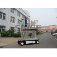 Quality 8 Meter Self Propelled Scissor Working Platform With 800mm Extension Platform for sale