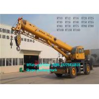 Wholesale Longest Boom 45m XCMG RT50 50 Ton 4x4 All Wheel Drive Heavy Rough Terrain Tractor Crane For Europe from china suppliers