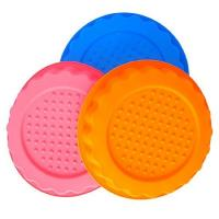 Wholesale round  shape silicone tray mold ,customized  silicone cake  mold ,flower silicon cake mold from china suppliers