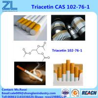 Buy cheap 99.5%Min Triacetin(Glycerol Triacetate) Food Grade As Bonding Plasticizers For Cigarette Filters from wholesalers