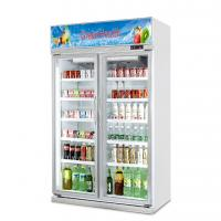Buy cheap Upright Slide Glass Door Freezer Showcase For Commercial Automatic Defrost Type from wholesalers