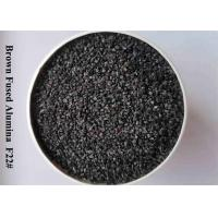 Wholesale 95% Al2O3 Brown Fused Alumina Aluminum Oxide Blasting Media F12-F24 , F30-F36 , F40-F220 from china suppliers