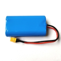 Wholesale 7.4V 2000mAh 18650 Lithium Rechargeable Battery For Massager from china suppliers