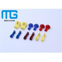 Wholesale 12 - 10 AWG Wire Connectors Yellow Color Quick Splice Wire Crimp Terminals Open Barrel Terminals from china suppliers