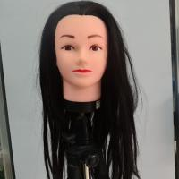 """Wholesale 16"""" - 24"""" Hairdressing Long Hair Training Female Mannequin Head from china suppliers"""